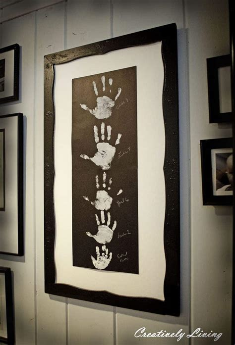 foot  handprint art ideas  kids