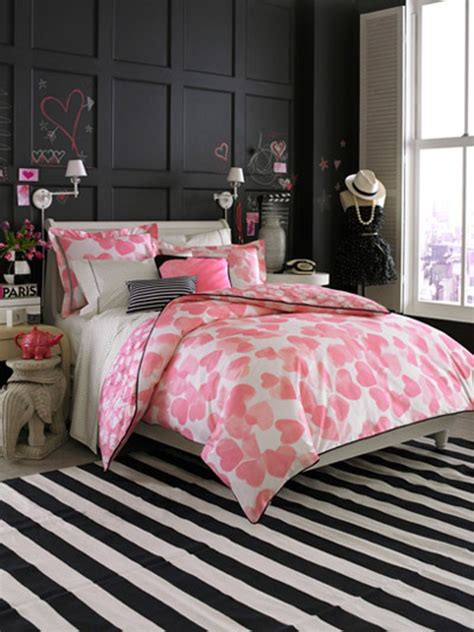 Pink Bedroom For Teenager by 12 Cool Ideas For Black And Pink Teen S Bedroom