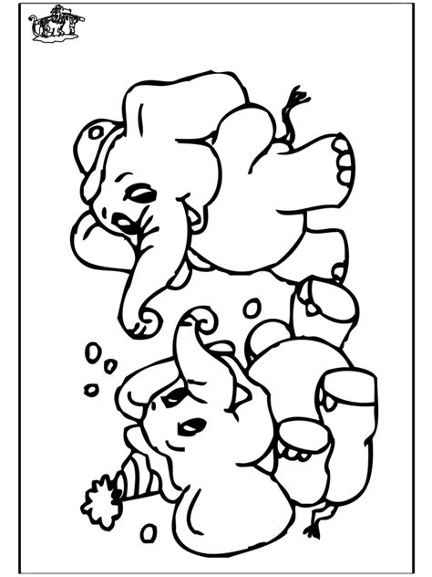 elefant  malvorlagen zoo