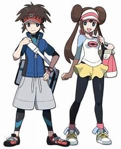 Pokemon People Characters Black And White | www.pixshark ...