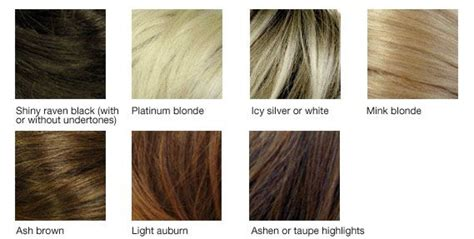 Cool Hair Tones by Hair Chart Cool Skin Tones Color Analysis Summer Type 2