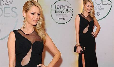 Tess Daly shows off her sexy side in LBD with thigh-high ...