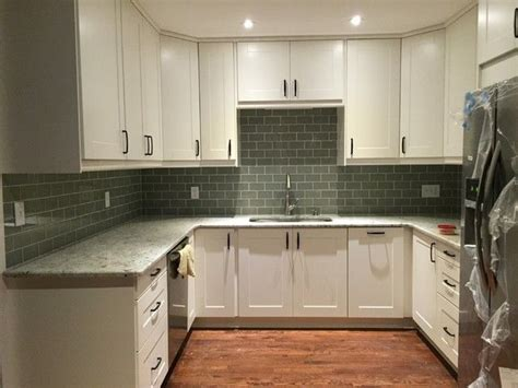 cottage kitchens pictures ikea grimslov white cabinets colonial white granite 2668