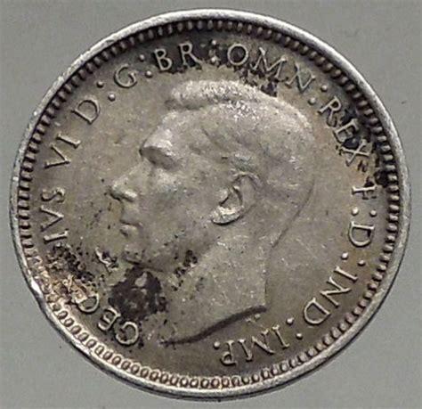 1943 silver wheat 1943 australia threepence silver coin uk king george vi wheat stalks i56784 ebay