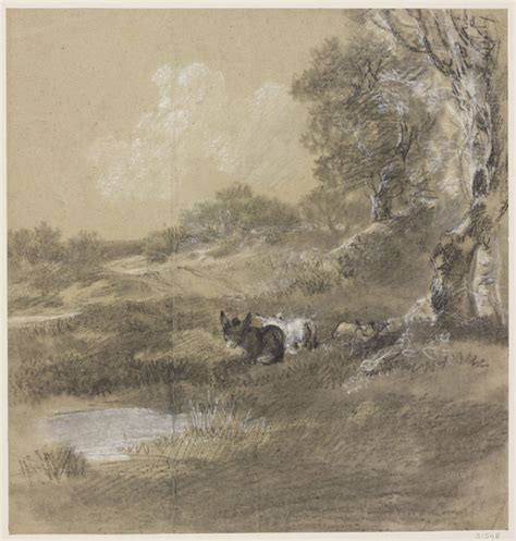 dozens   thomas gainsborough drawings  discovered
