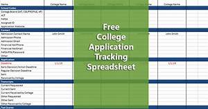 How To Do A Budget Spreadsheet Free College Application Checklist Do It Yourself