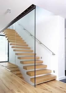 Holzstufen Auf Beton : kragarmtreppe mit holzstufen ilshofener treppenbau ~ Michelbontemps.com Haus und Dekorationen