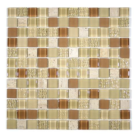 Fuda Tile Butler Nj by 1 Quot Square Glass And Mosaic Blend By Fuda Tile