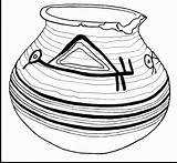 Coloring Pages Pottery Pot Gold Printable Getcolorings Stunning sketch template