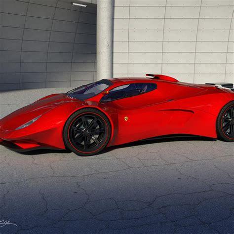 Red Ferrari Ipad Wallpapers 1024x1024 Hd Wallpaper