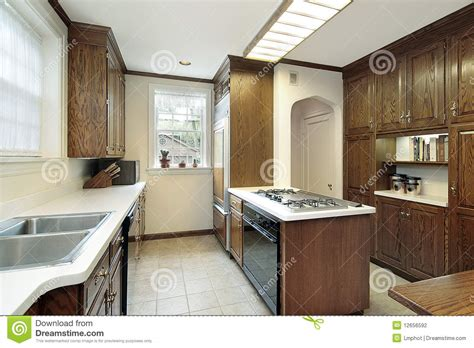 kitchen islands with stove top kitchen with stove top island stock photo image 12656592 8311