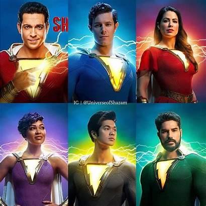 Shazam Movie Cast Hindi Voice Dubbing Superhero