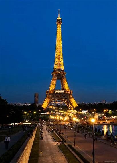 Paris Eiffel Tower Tour France Gifs Flag