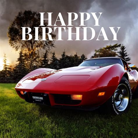 happy birthday corvette corvsportcom