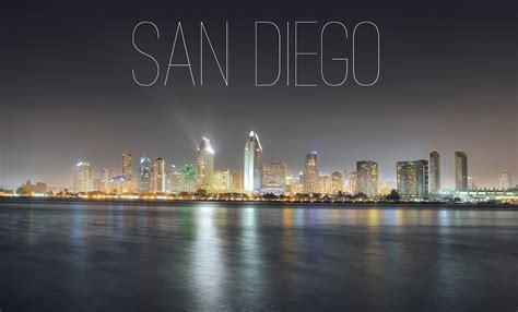 Frankie Foto San Diego City Skyline Night