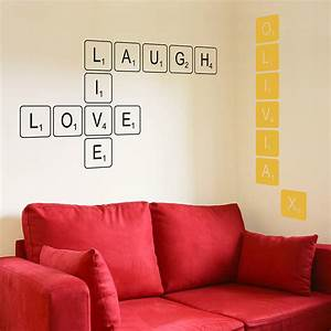 Wall decal awesome black letter wall decals black letter for Awesome black letter wall decals