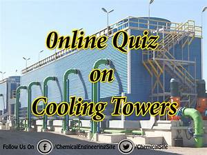 Cooling Tower Efficiency Calculations