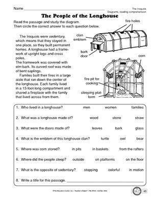 Native American Worksheet  Google Search  Homeschool  Thanksgiving  Pinterest Worksheets