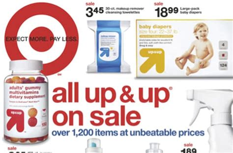 Target Private Brands & The Flyer Through The Years-my