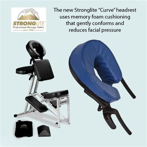 Stronglite Ergopro Chair by Stronglite Ergopro Chair Curve Headrest Royal