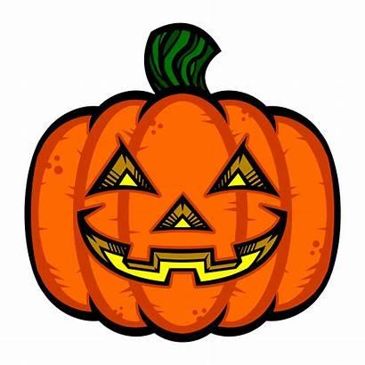 Lantern Jack Vector Illustration Pumpkin Halloween Clipart