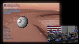 MSL Curiosity Rover Landing on Mars - Simulation + Live ...