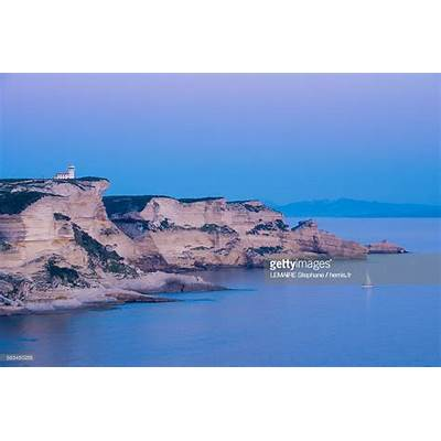 France Corse Du Sud Bonifacio Pertusato Point Stock Photo