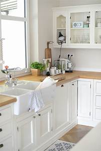 Kuche im modernen landhausstil von eva wohnkonfetti for Landhausstil küche