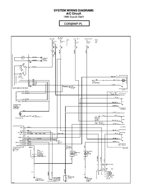car repair manual download 1998 suzuki swift windshield wipe control suzuki swift 1995 sch service manual download schematics eeprom repair info for electronics