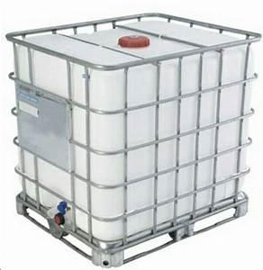 Ibc container 1000 liter gebraucht behalter fur for Französischer balkon mit ibc container garten