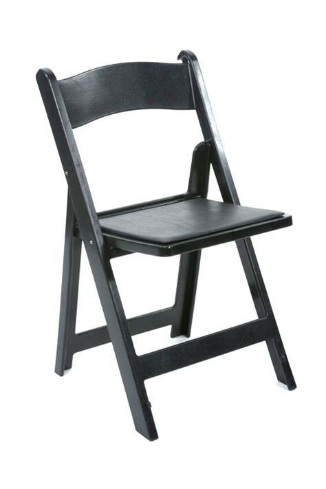 black resin folding chair vision furniture