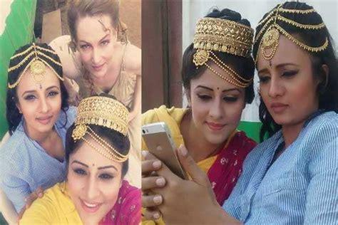 ankita sharmas wedding preparations   sets  ashoka