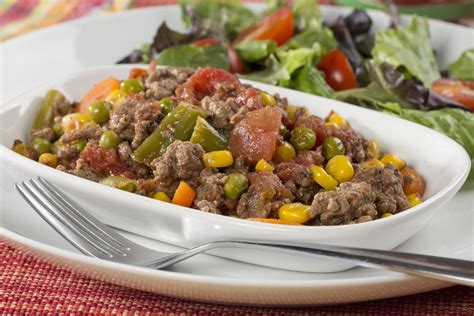 Cook until no longer pink, stirring and breaking beef into. Beefed-Up Vegetable Stew | EverydayDiabeticRecipes.com