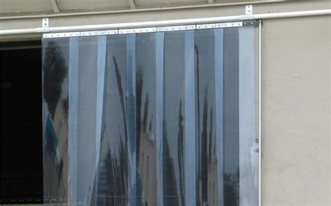 slide open pvc curtain doors with sliding roller