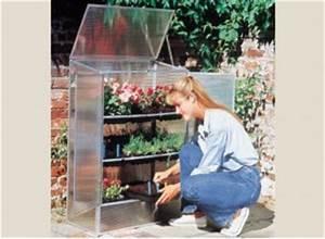 Mini Serre De Balcon : serre jardin mini tunnel bois polycarbonate ou verre ~ Premium-room.com Idées de Décoration