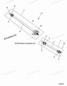 Polaris Side By Side 2019 Oem Parts Diagram For Drive