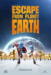 Escape from Planet Earth Movie Giveaway ($25 Visa Card)