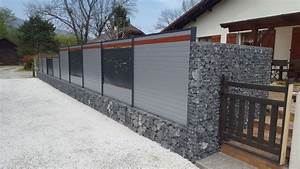 Mur De Cloture En Gabion : cloture gabion cool with cloture gabion cheap cloture ~ Edinachiropracticcenter.com Idées de Décoration