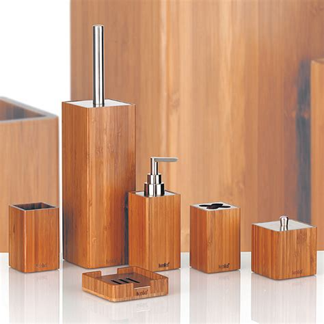 Badezimmermöbel Set Grün by Badezimmer Set Bambus Bestseller Shop F 252 R M 246 Bel Und