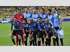 Los convocados de la selección de Uruguay para el Mundial