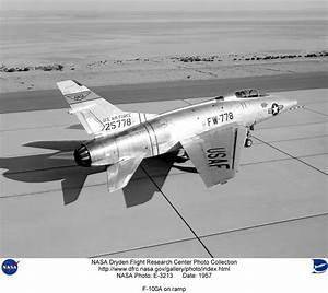 NASA Dryden F-100 Super Sabre Photo Collection
