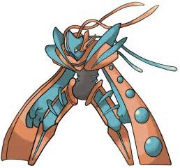 Deoxys Mega Evolution Pokemon