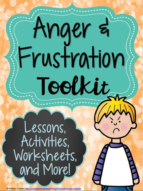 anger management toolkit anger management activities
