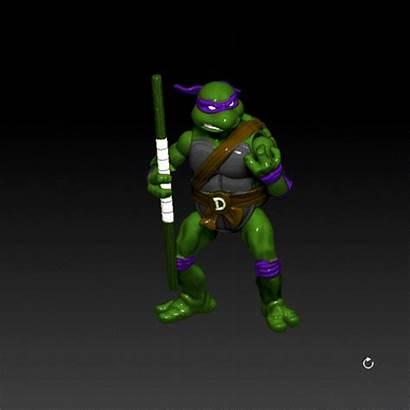 3d Tmnt Donatello Figure Action Printing