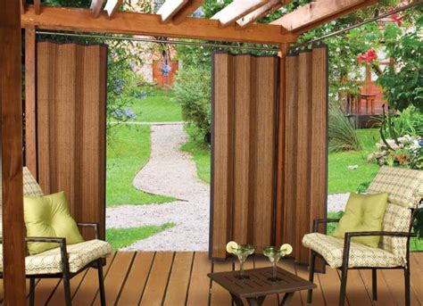 Outdoors Curtains : Different Curtain Design Patterns