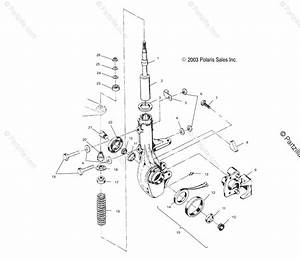 Polaris Atv 2000 Oem Parts Diagram For Front Strut