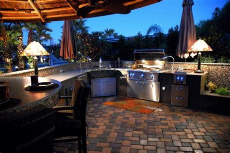 idee amenagement cuisine d ete cuisine extérieure été 50 exemples modernes