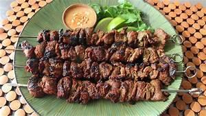 beef satay recipe thai style grilled beef skewers