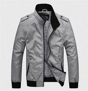 Menu0026#39;s Casual Jacket-Blue/Black/Grey | Menu0026#39;s Apparel | Pinterest | Gray Man jacket and Black