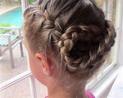 french braid hairstyles  kids